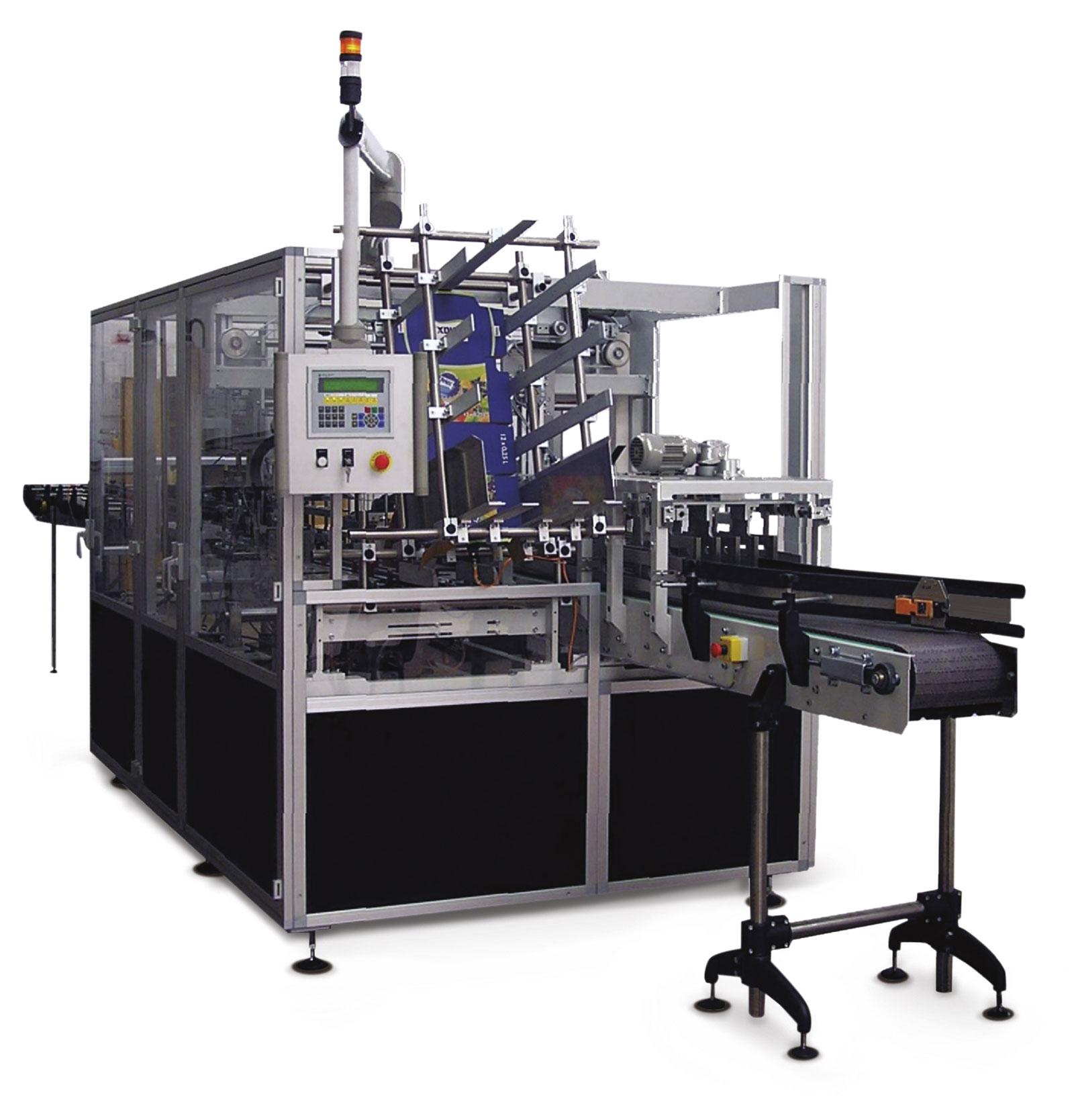 Оборудование, автомат для групповой упаковки в картонную тару Box 20KT Nomatech