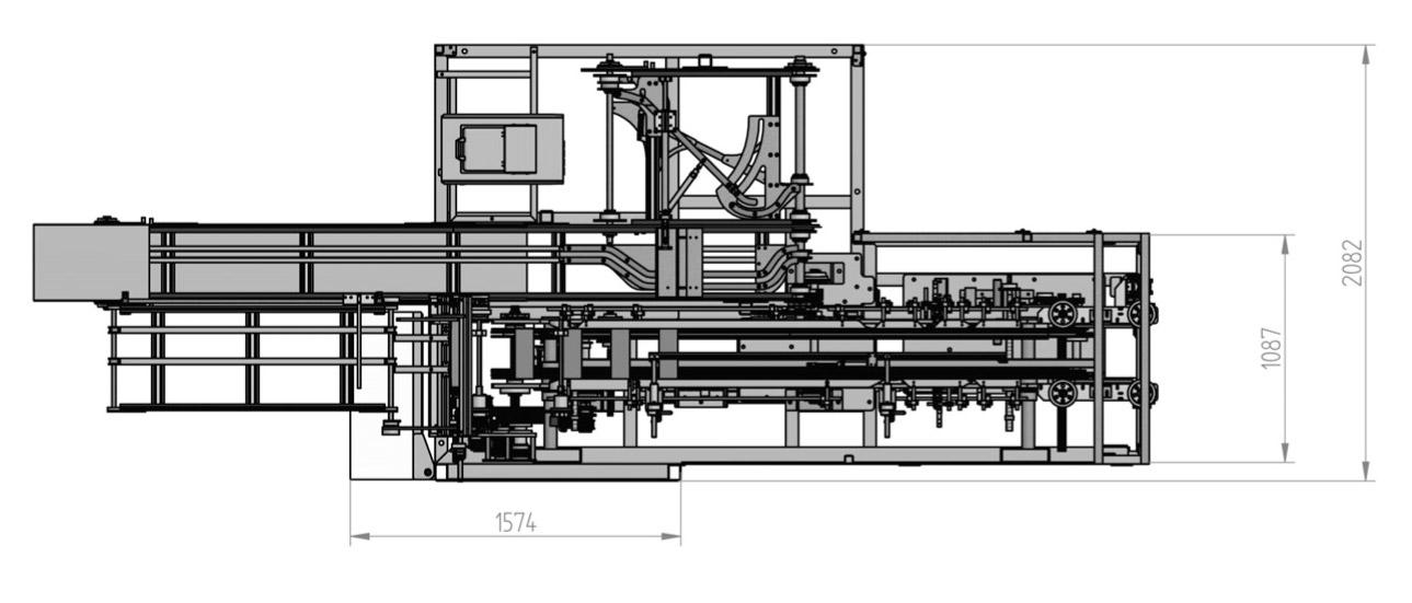Оборудование, автоматическая картонажная горизонтальная упаковочная машина KPZC-04 компании Wega