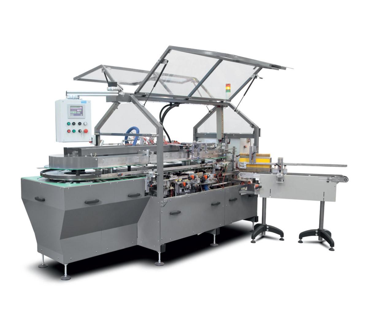 Оборудование, автоматическая картонажная вертикальная упаковочная машина KPN-04 компании Wega
