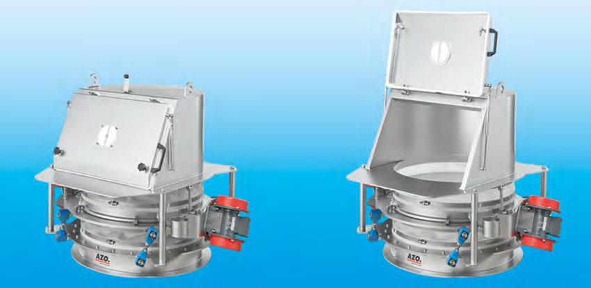 Оборудование для автоматизации, беспылевой растариватель AZO модель ET VS GA
