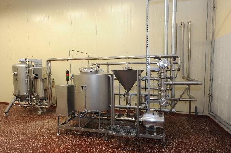 Оборудование, для обработки рассола Fibosa