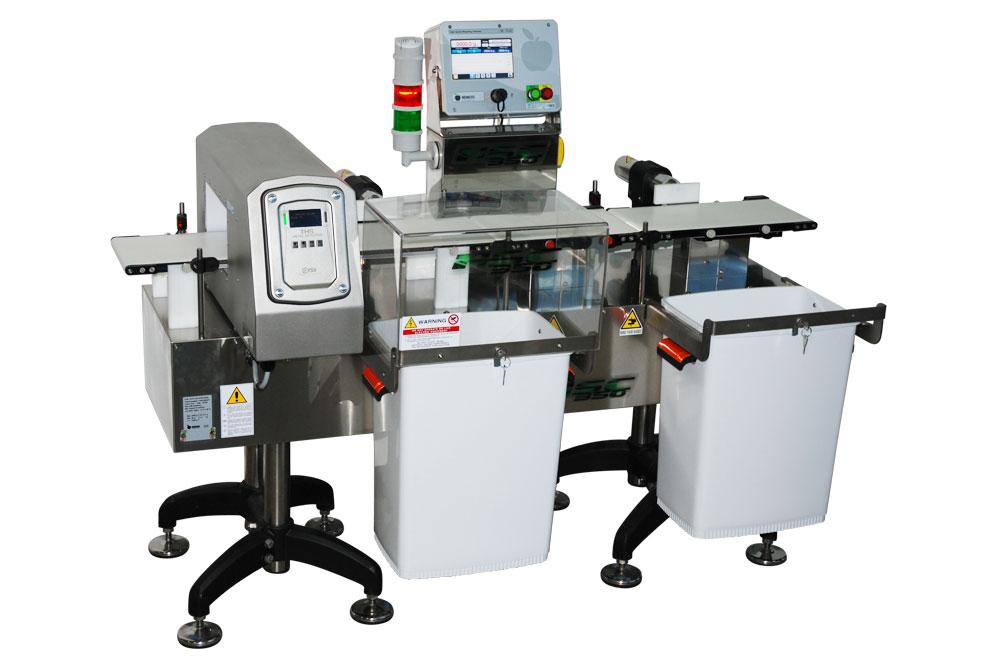 Оборудование, линия для взвешивания, металл детектор Nemesis серия MC