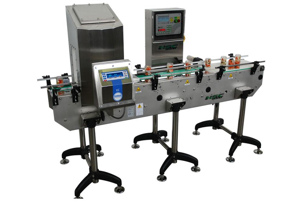 Оборудование, линия для взвешивания, металл детектор Nemesis серия MR