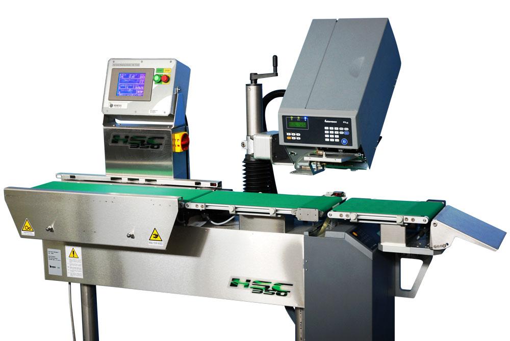 Оборудование, линия для взвешивания, весо-этикетировщик Nemesis серия KT