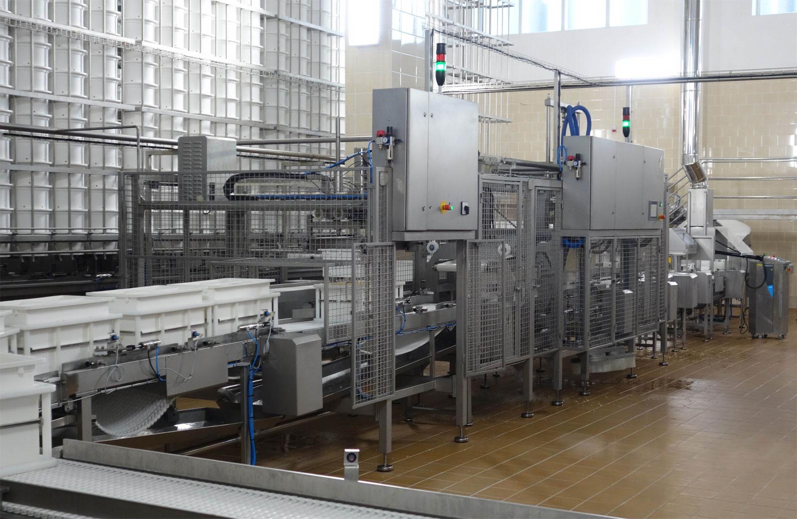 Оборудование, Дополнительные элементы для систем производства прессованного сыра Fibosa