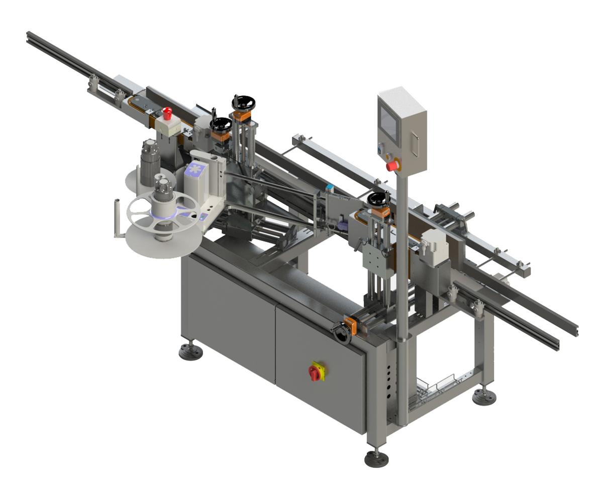 Оборудование, этикетировочная машина selfLAN 505 Langguth