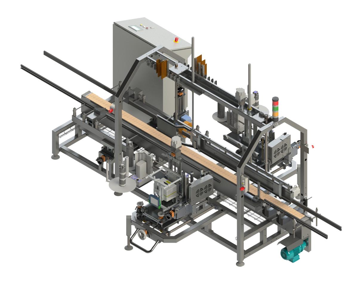 Оборудование, этикетировочная машина selfLAN 530 Langguth