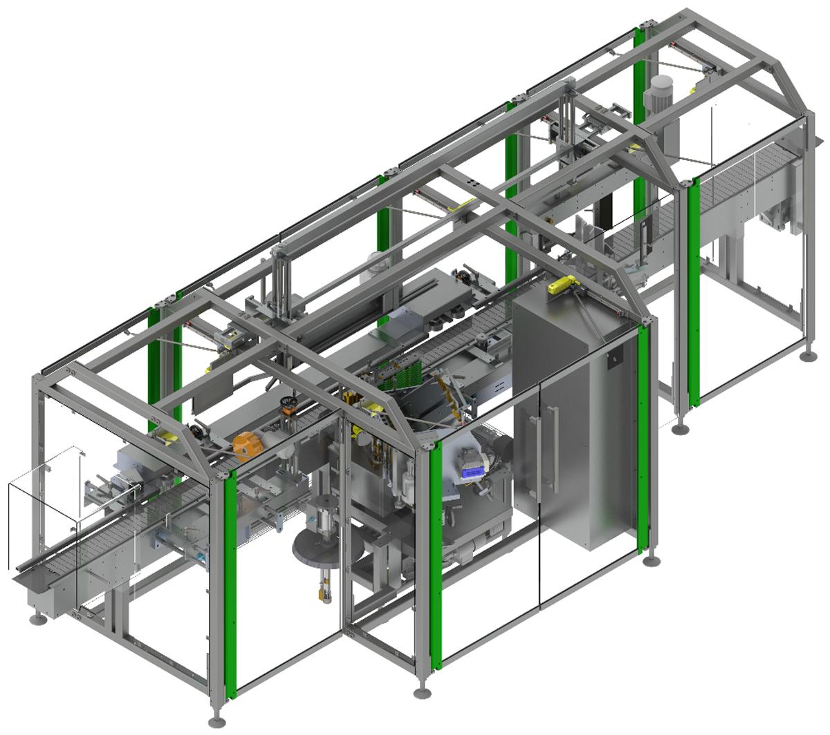 Оборудование, универсальная этикетировочная машина wetLAN 130 Langguth