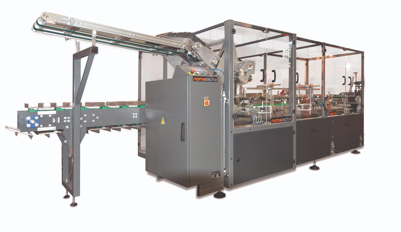 Оборудование, горизонтальная картонажная машина непрерывного действия Box 100H, 200H Nomatech