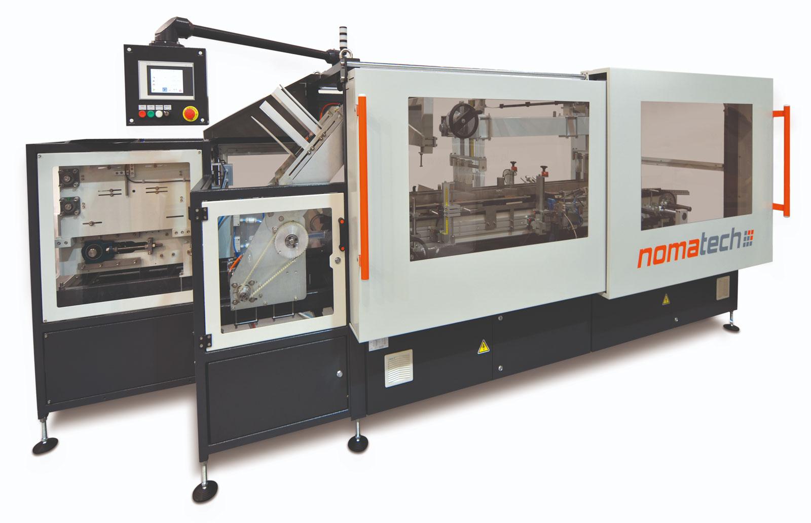 Оборудование, горизонтальная картонажная машина шагового типа Box 60H Nomatech