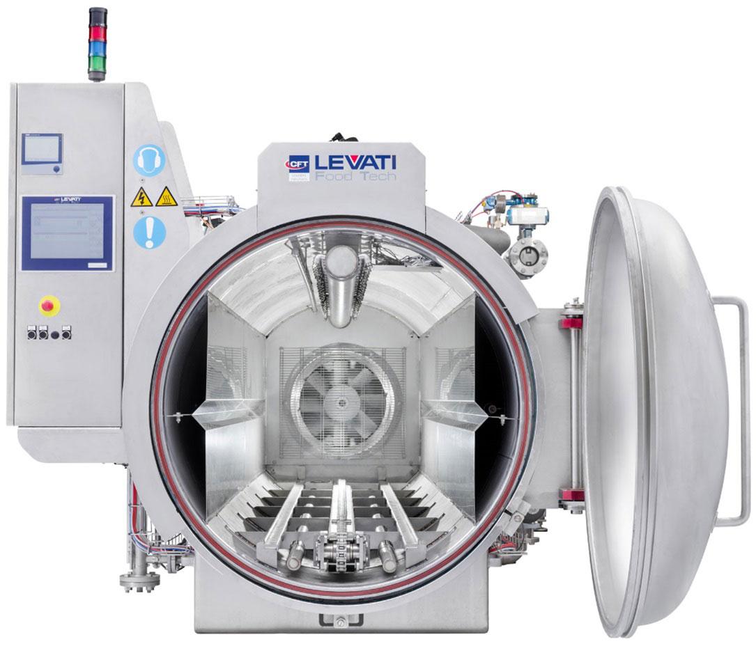 Оборудование, горизонтальный автоклав для стерилизации Levati серии Prima