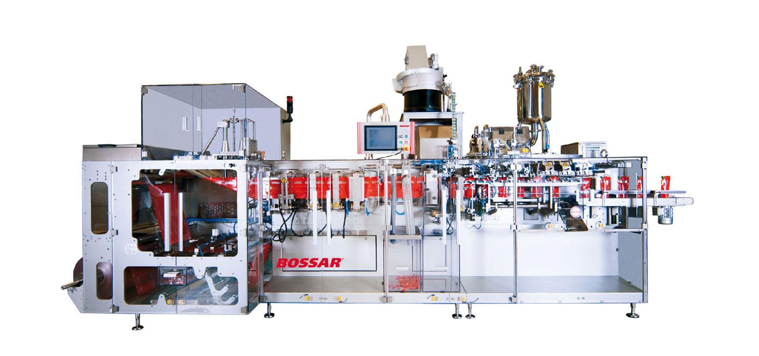 Оборудование, линия для упаковки в дой-пак и саше пакеты Bossar BMK 1400
