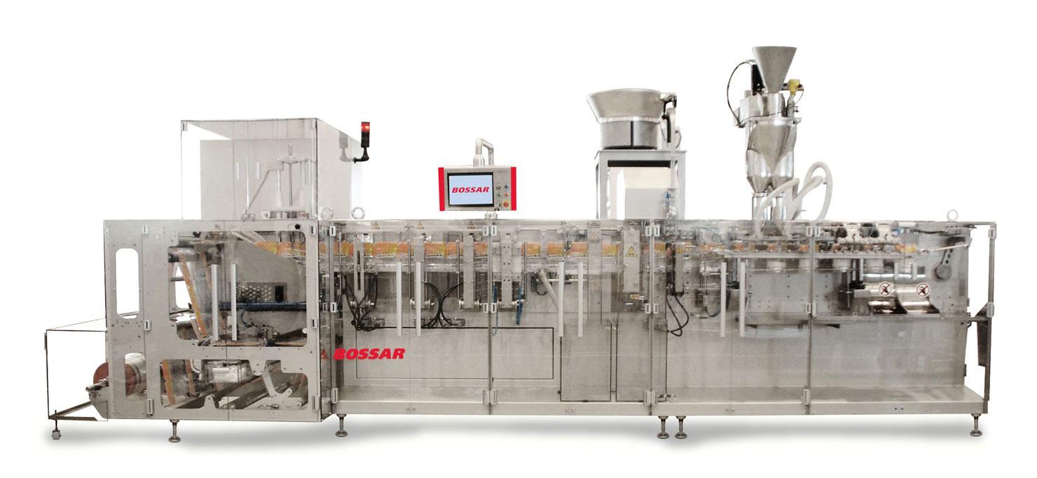 Оборудование, линия для упаковки в дой-пак и саше пакеты Bossar BMK 2000