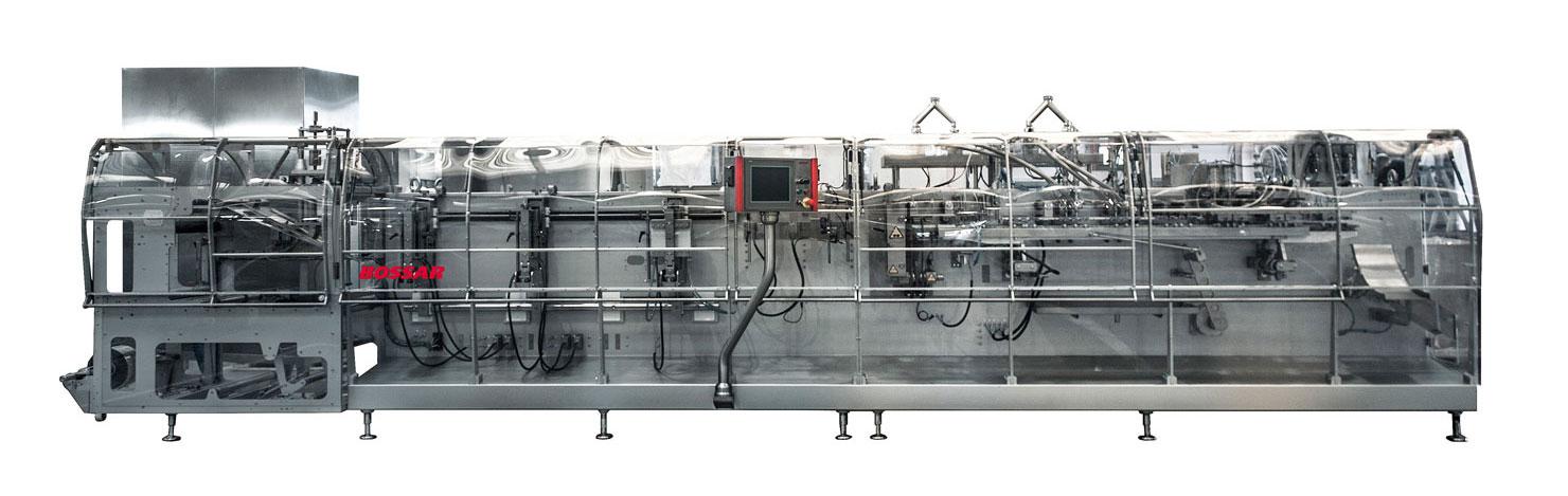 Оборудование, линия для упаковки в дой-пак и саше пакеты Bossar BMS 2.0