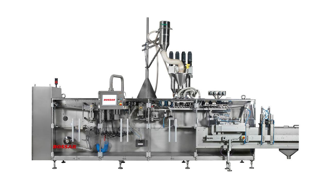 Оборудование, линия для упаковки в саше пакет Bossar B 2800 / 4