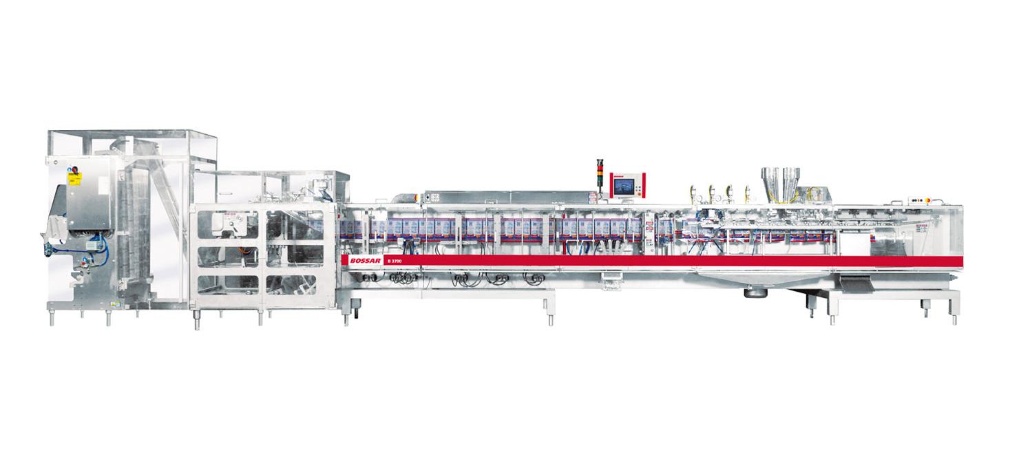 Оборудование, линия для упаковки в саше пакет Bossar B 3700