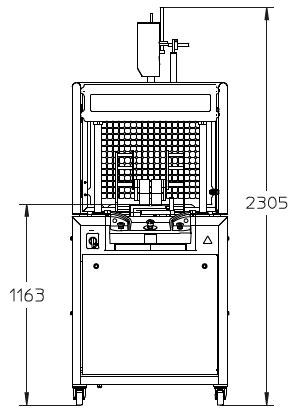 Оборудование, Машина для полуавтоматической нарезки сыра Selvex DS500