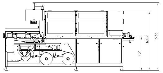 Оборудование, Машина для упаковки флоу-пак Aucouturier AFSA