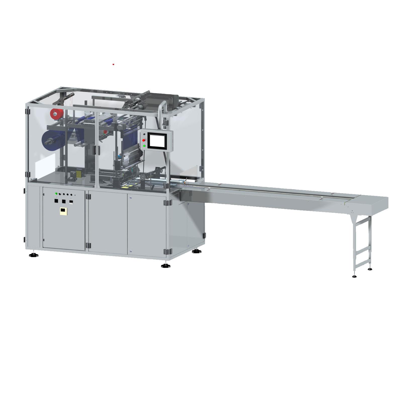 Оборудование, Машина для упаковки в пленку Х-фолд Aucouturier AX50
