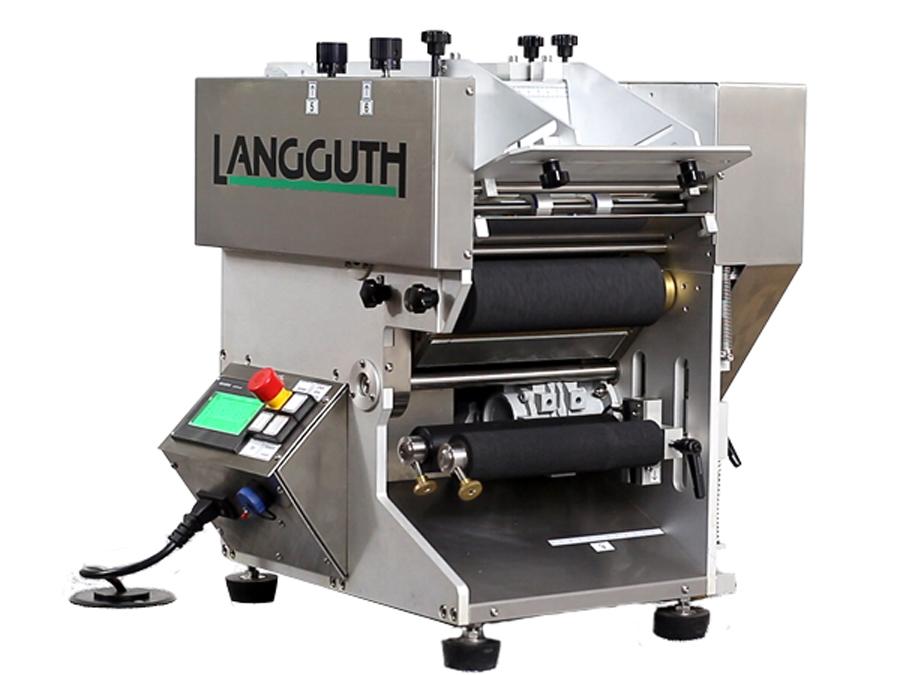 Оборудование, полуавтоматическая этикетировочная машина wetLAN 190 Langguth
