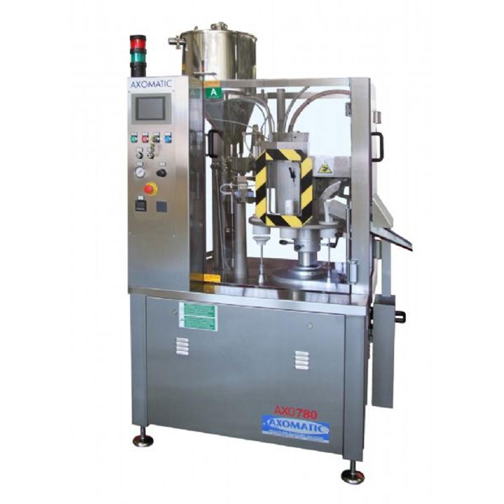 Оборудование, полуавтоматическая тубонаполнительная машина Axomatic Ахо 780