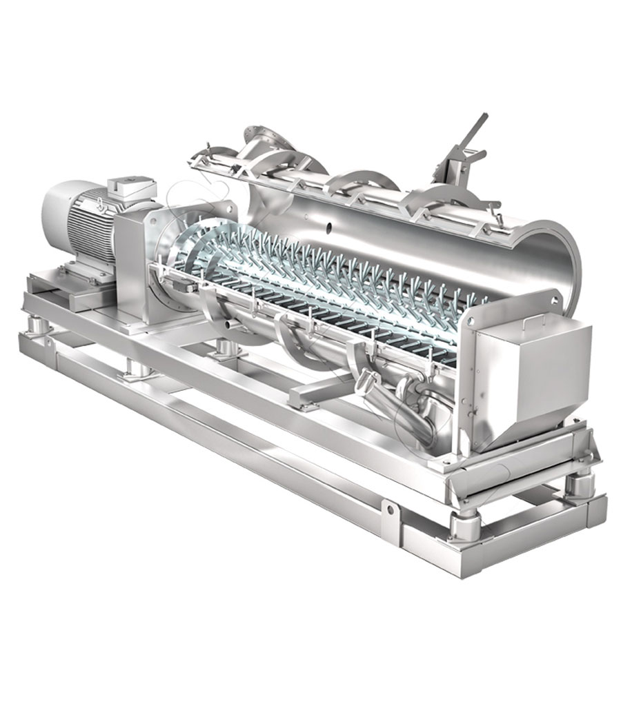 Оборудование для приготовления, техническое оборудование, смеситель непрерывного действия и кольцевой гранулятор типа RMG