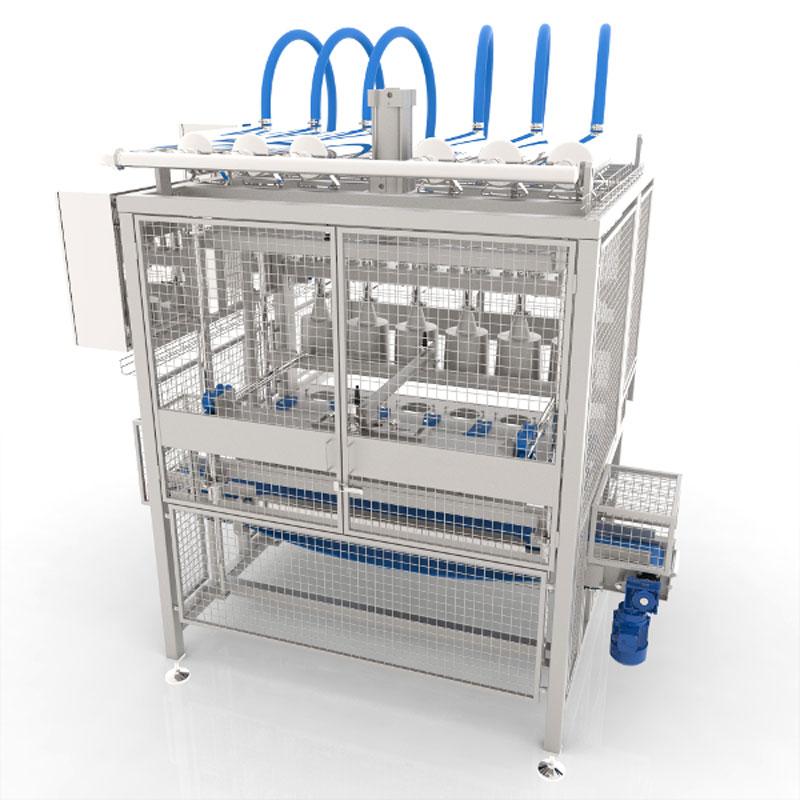 Оборудование, Установка для распрессовки Fibosa
