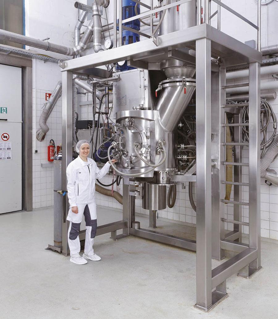 Оборудование для приготовления, техническое оборудование, вакуумный смеситель-сушилка VMT Amixon