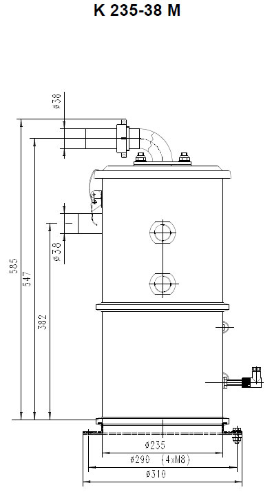 Оборудование для автоматизации, вакуумный загрузчик типа K для автоматизированной сборной системы подачи