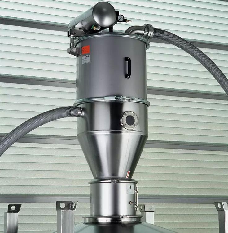 Оборудование для автоматизации, вакуумный загрузчик типа P для порошкообразного сыпучего продукта