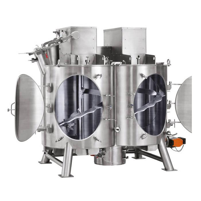 Оборудование для приготовления, техническое оборудование, вертикальный двухвальный смеситель Amixon типа HM