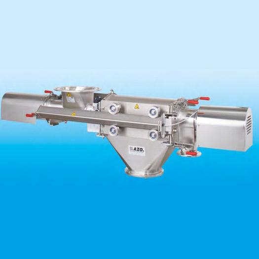 Оборудование для автоматизации, вихревой просеиватель AZO модель DA650N с самодозированием