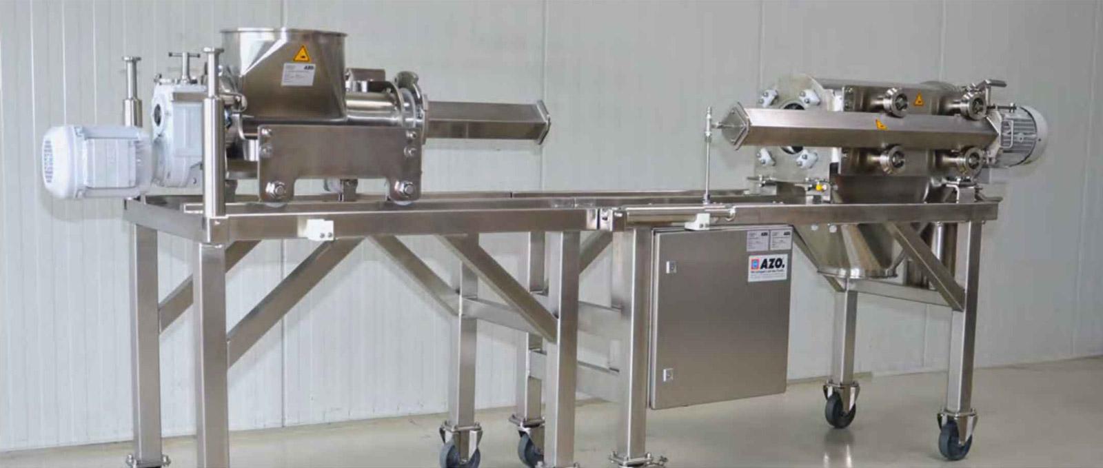 Оборудование для автоматизации, вихревой просеиватель AZO модель DA650 Vario