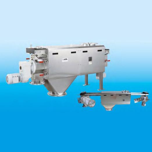 Оборудование для автоматизации, вихревой просеиватель AZO модель DA800N с самодозированием