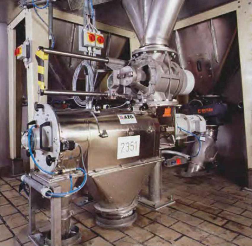 Оборудование для автоматизации, вихревой просеиватель AZO модель E650