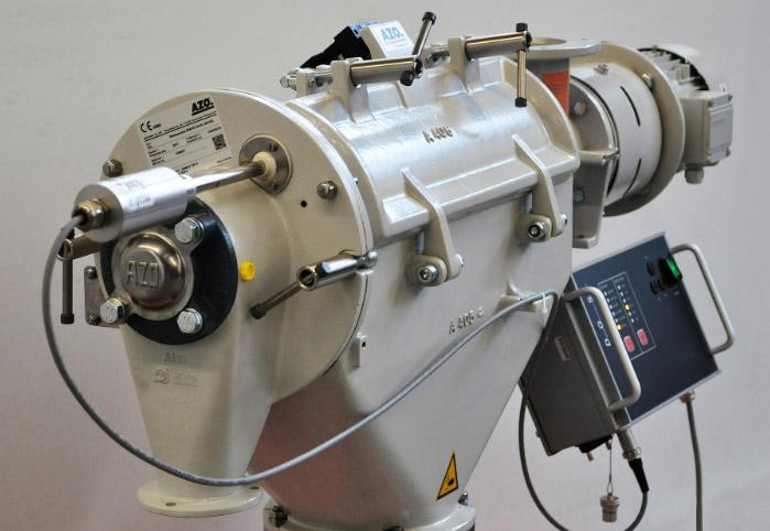 Оборудование для автоматизации, вихревой просеиватель AZO с помощью ультразвука