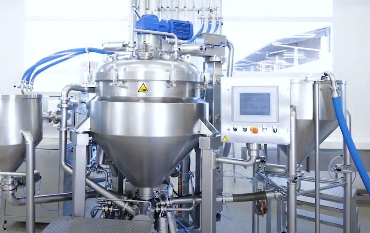 Технологическое оборудование, линия для производства асептических фруктовых начинок AZO Liquids