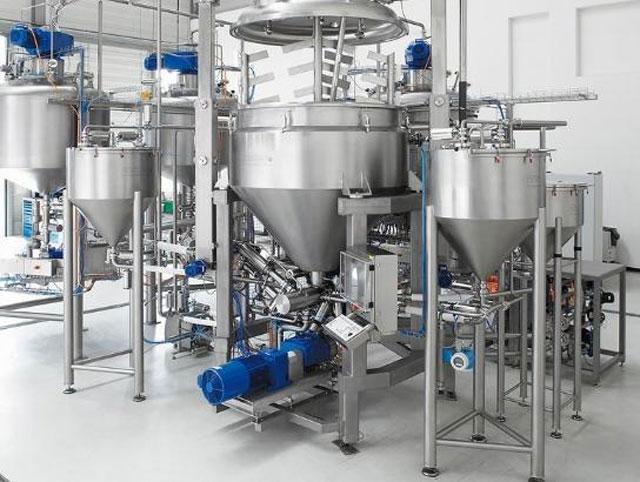 Технологическое оборудование, линия для производства кетчупа AZO Liquids