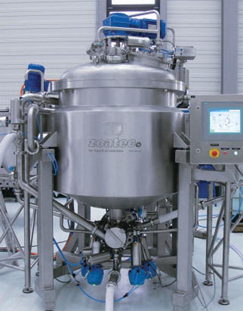 Технологическое оборудование, линия для производства майонеза AZO Liquids
