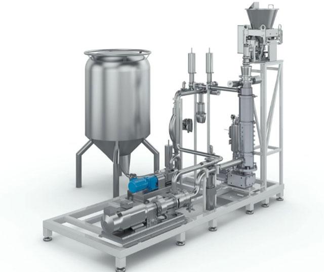 Технологическое оборудование, линия непрерывного приготовления AZO Liquids