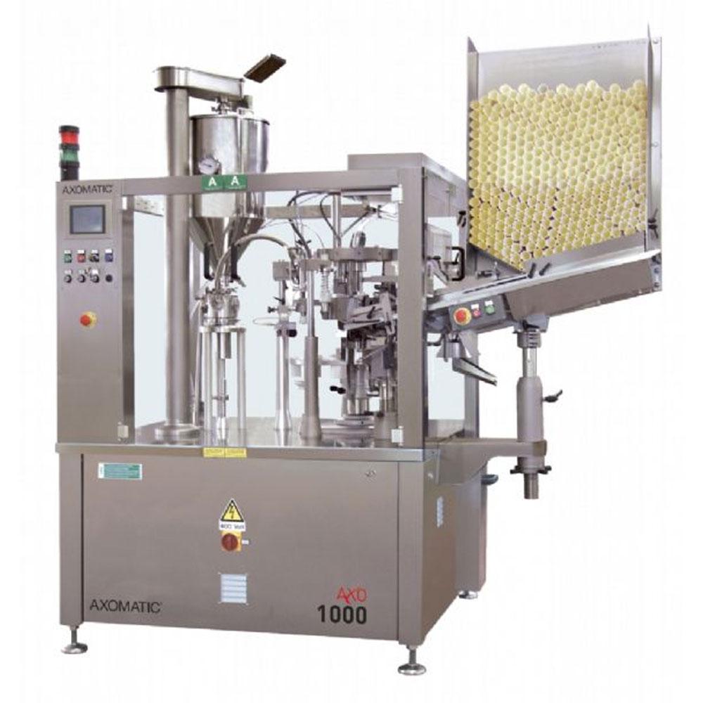 Оборудование, тубонаполнительная машина Axomatic Ахо 1000