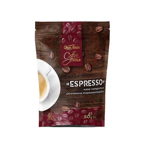 Фасовка и упаковка сублимированного гранулированного и порошкообразного кофе в дой-пак пакет с зип-замком, готовое оборудование Украина