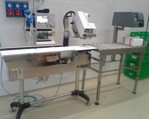 Автоматическая весомаркировка продукции на оборудовании Nemesis