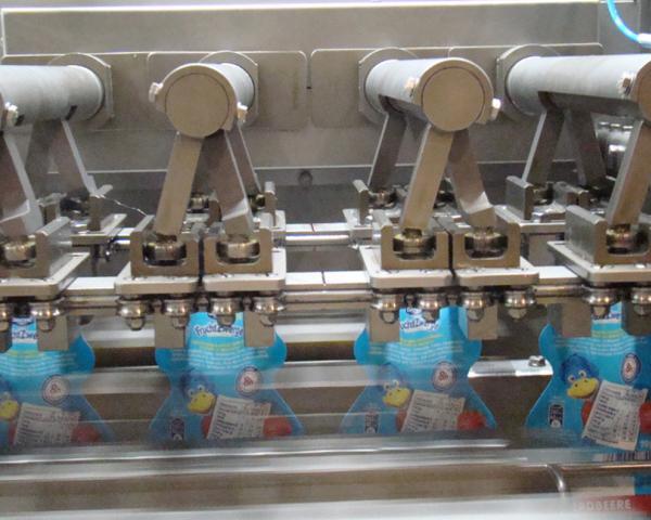 Оборудование для упаковки детского питания в дой-пак пакет Левати подобрать купить Киев Украина