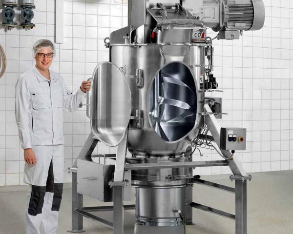 Создание еды быстрого приготовления с помощью смесителей Amixon