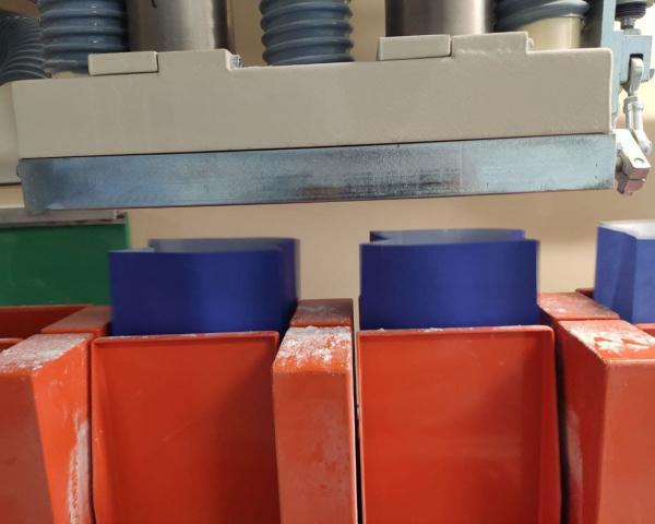 Упаковка муки в готовый бумажный пакет на итальянском оборудовании New Project