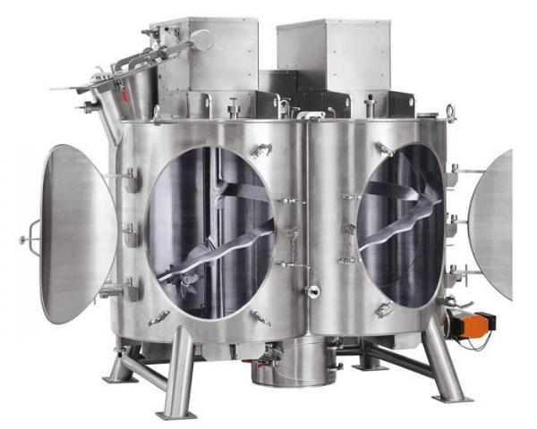 Вертикальный двухвальный смеситель Amixon типа HM