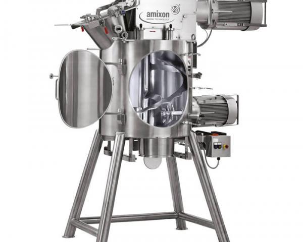 Вертикальный одновальный смеситель Amixon типа VM