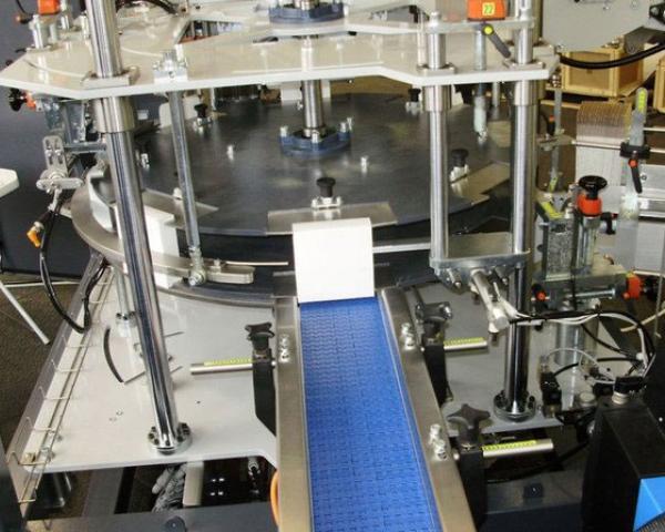 Линия для упаковки, вертикальная упаковочная машина в картонные коробки Box 60V Nomatech