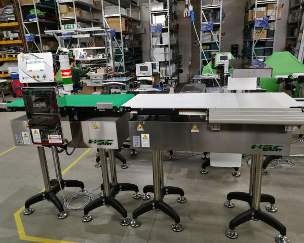 Оборудование, линия для взвешивания, чеквейер Nemesis серия H